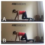 Das Krabbeln gehört wohl zu den elementarsten Bewegungsmustern, mit denen wir die Rumpfmuskulatur trainieren können. Es ist die Technik, mit der Baby Stabilität aufbauen, um aufrecht laufen zu lernen. Krabbeln ist ein geniales Kraftausdauertraining für den Oberkörper, das neben dem Rumpf auch die aktiviert.