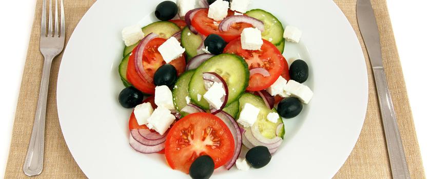 Griechischer Salat SHENTI-Art